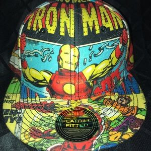 Iron Man Fitted Cap
